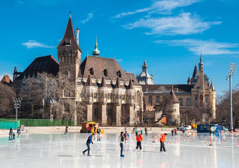 Vajdahunyad castle in Budapest_382374688
