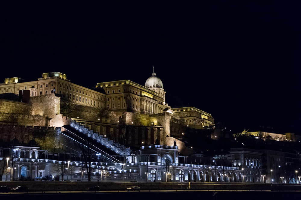 Buda Castle or Royal Palace in Budapest_408956614