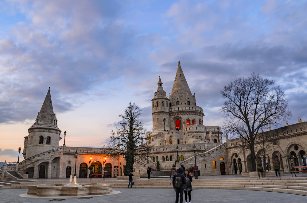Fishermen Bastion on the castle hill of Budapest_404230765