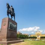 Monument of the Croatian King Tomislav in Zagreb_359156447