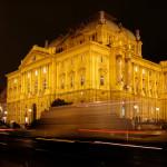 Night photo of Croatian National Theater_284209625
