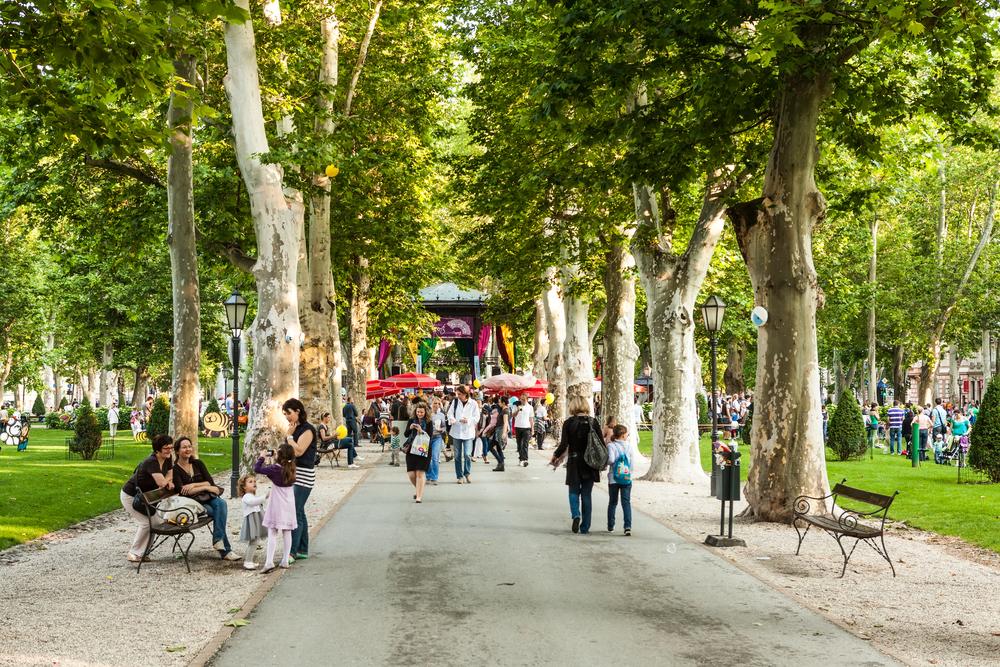 pavillion in Zrinjevac park_151390760