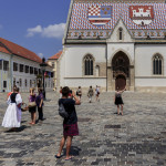 st. Mark square in Zagreb, Croatia_333586955