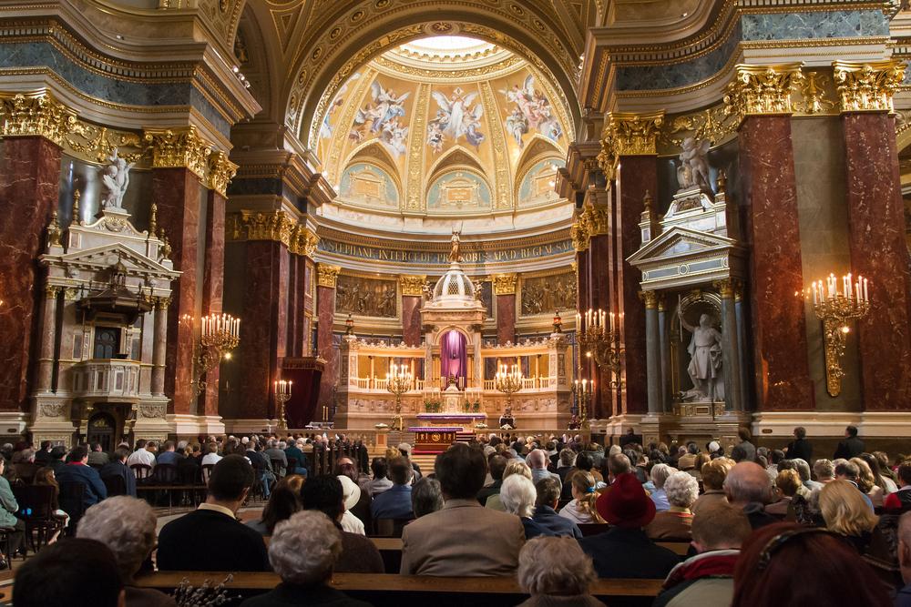 St. Stephen Basilica, a Roman Catholic basilica in Budapest_244258183