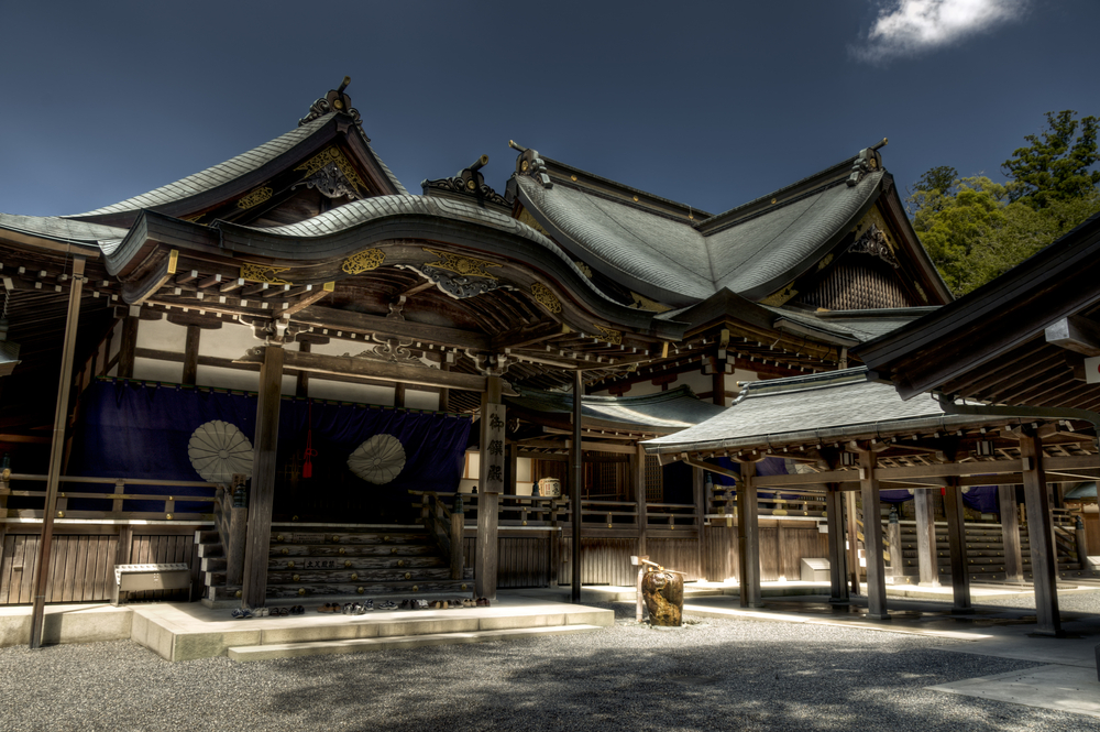Japanese shinto Ise Grand shrine_227906977