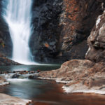 Waterfall in the gold coast hinterlands_266144672