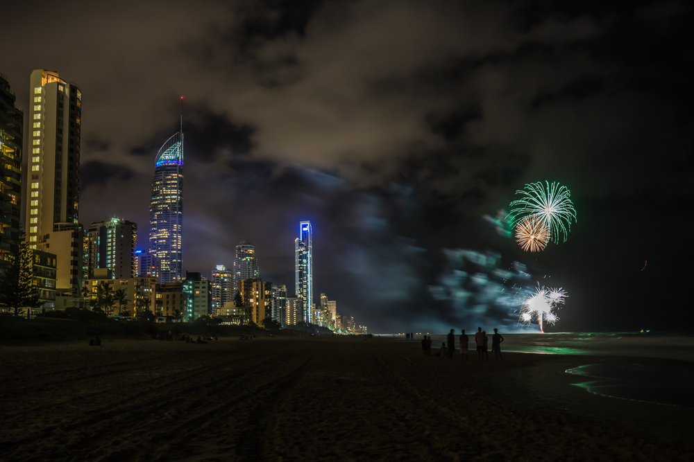 Firework celebrations on the Gold Coast_334013984