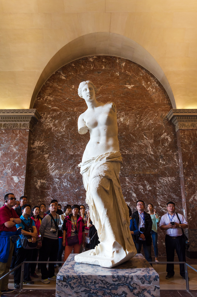 The Venus de Milo statue at the Louvre Museum_319516283