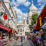 street on Montmartre in Paris_394188901