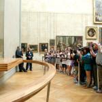 take photo of Leonardo Da Vinci Mona Lisa at the Louvre Museum_87317236