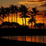 Lagoon beach from Waikiki Beach, Honolulu, Oahu, Hawaii_376242427
