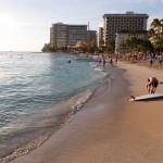 Waikiki beach in the afternoon_397197196