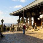 Hall of the Great Buddha at Todaiji Nigatsudo Shrine in Nara_351986054