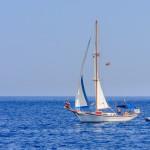 Mediterranean coast in the resort of Faliraki_258673094