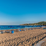 Sandy beach, Faliraki Rhodes_362365037
