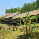 longhouse in Malaysian part of Borneo_191840027