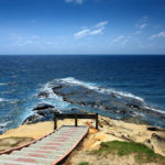Beautiful Tip of Borneo with blue skies landscape_34724929