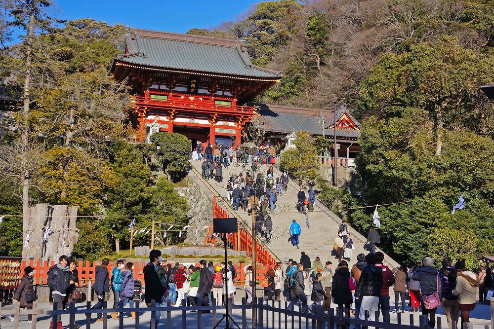 Tsurugaoka Hachimangu shrine in Kamakura_385536880