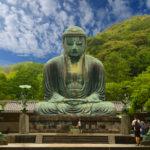 Great Buddha (Daibutsu) on the grounds of Kotokuin Temple in Kamakura_93069328