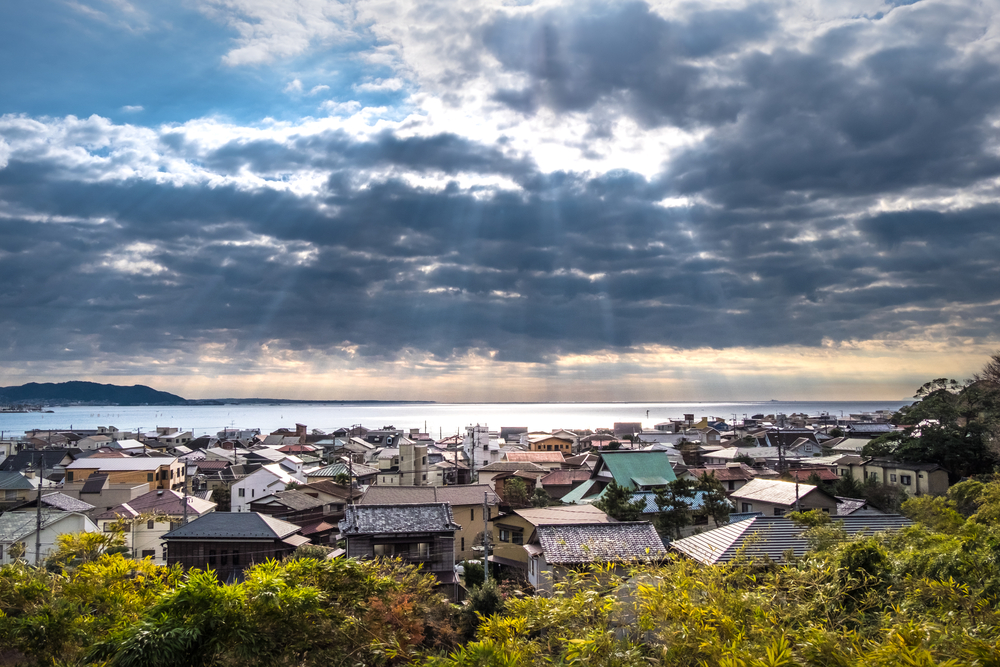 from the top of Hasedera Temple - Kamakura_378609847