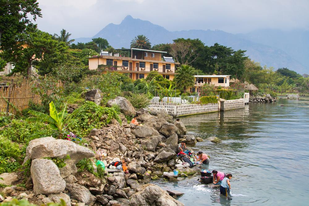 San Pedro La Laguna, Lake Atitlan, Guatemala _192305273