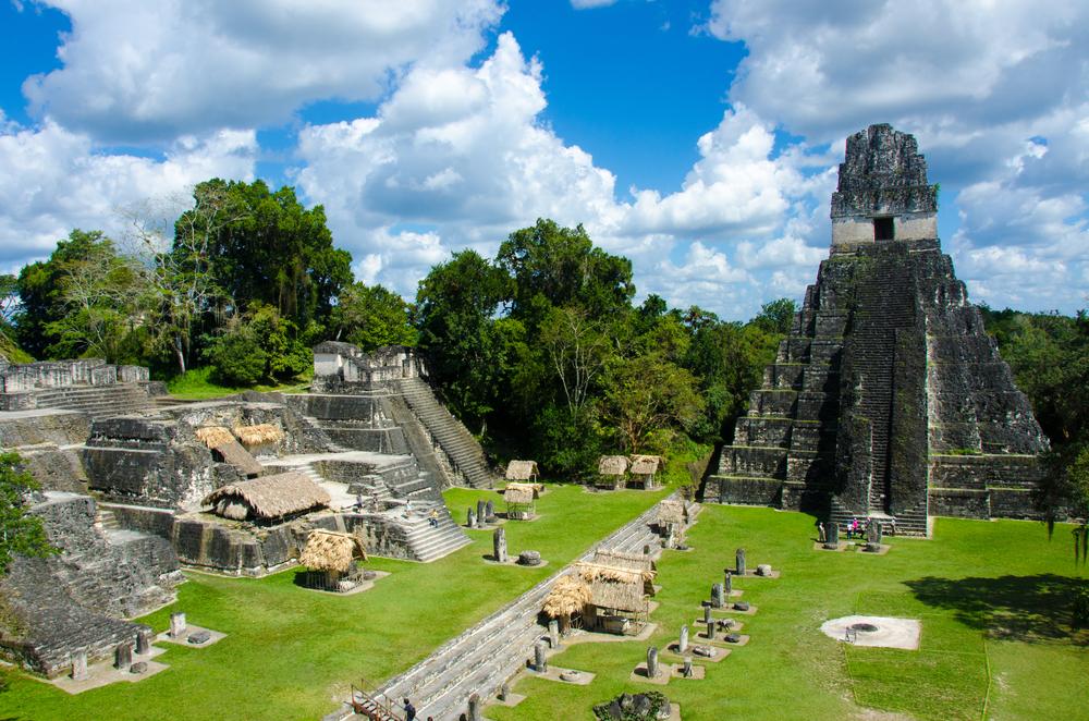 Tikal - Maya Ruins in the rainforest of Guatemala_233013415