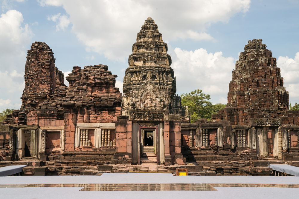 historic Phimai Temple near Nakhon Ratchasima_125153714