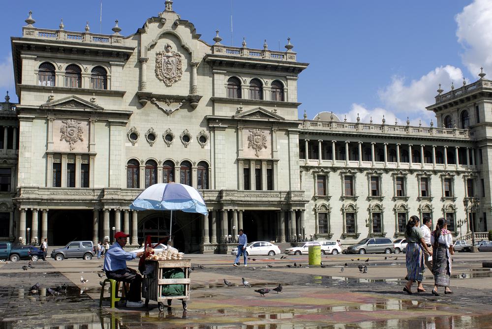 Main Plaza at National Presidential Palace, Guatemala City_234810340