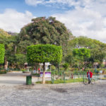 main central park in Antigua, Guatemala_316420973
