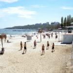 beach Arcadia near Black Sea in Odessa_221526592