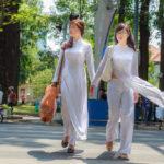 white Ao dai on the street_274780880