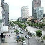 Walking street (Pho Di Bo) in Sai Gon_438136909
