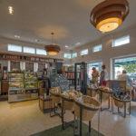 Starbucks coffee store interior view in South Beach_421110487
