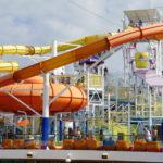 Carnival Breeze docked in Miami, Florida_355608377