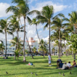 South Beach Boardwalk in Miami Beach_371542441