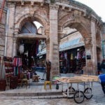 Christian Quarters of the old city of Jerusalem_438415351