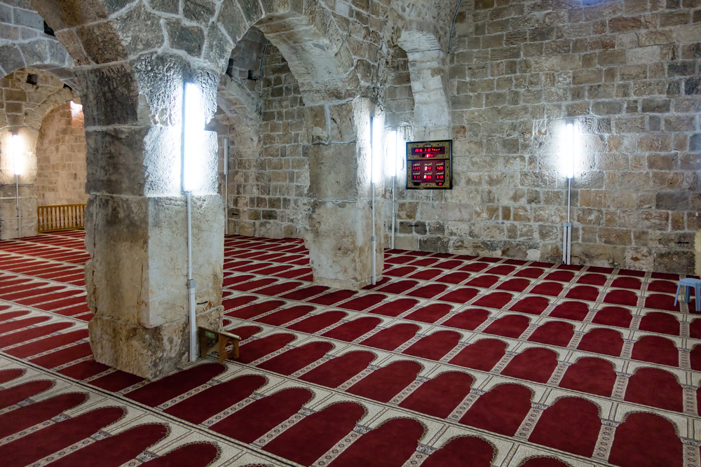 underground praying hall of Marwan-e-Masjid_438070918