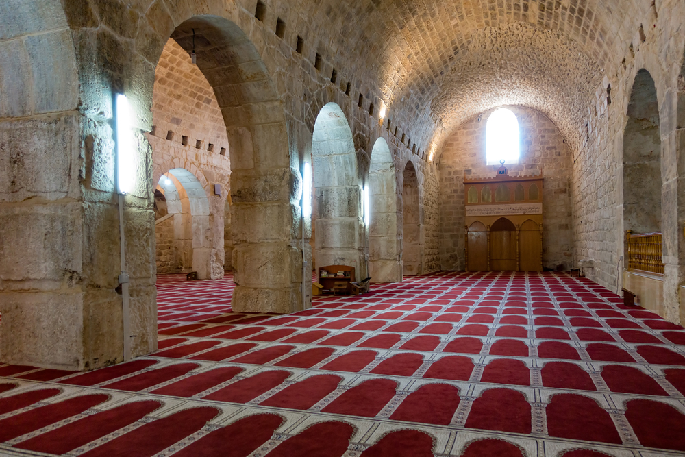 underground praying hall of Marwan-e-Masjid_438070924
