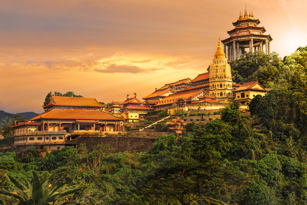 Buddhist temple Kek Lok Si in Penang_374408203