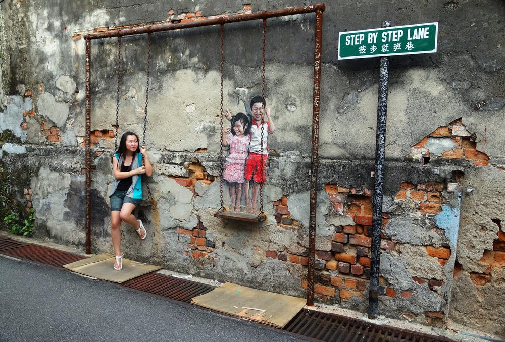 Street Mural installation_146284379