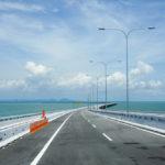 View of Penang Bridge, Malaysia_314830220