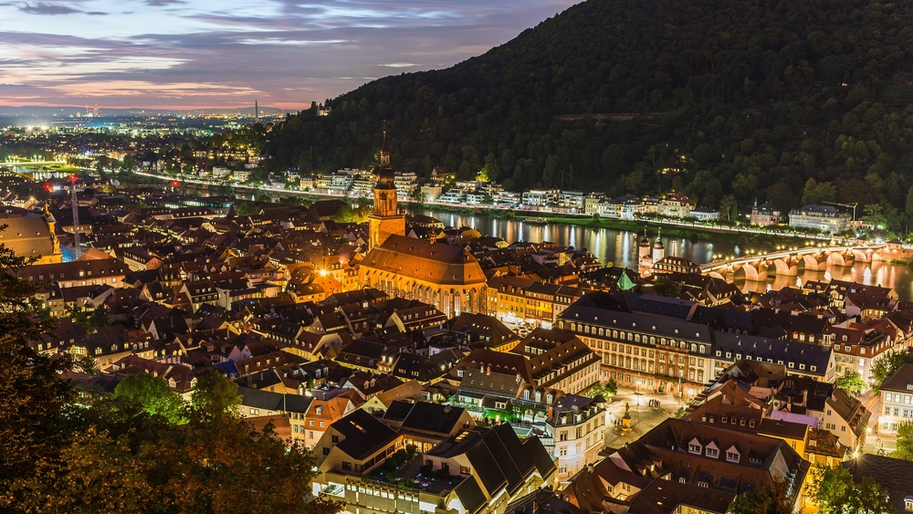 Sunset over Heidelberg_328638389