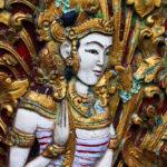 Door carving arts of Indonesia_409349842