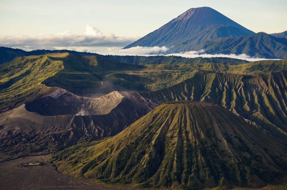 Mt. Bromo located in Bromo Tengger Semeru National Park_411397135