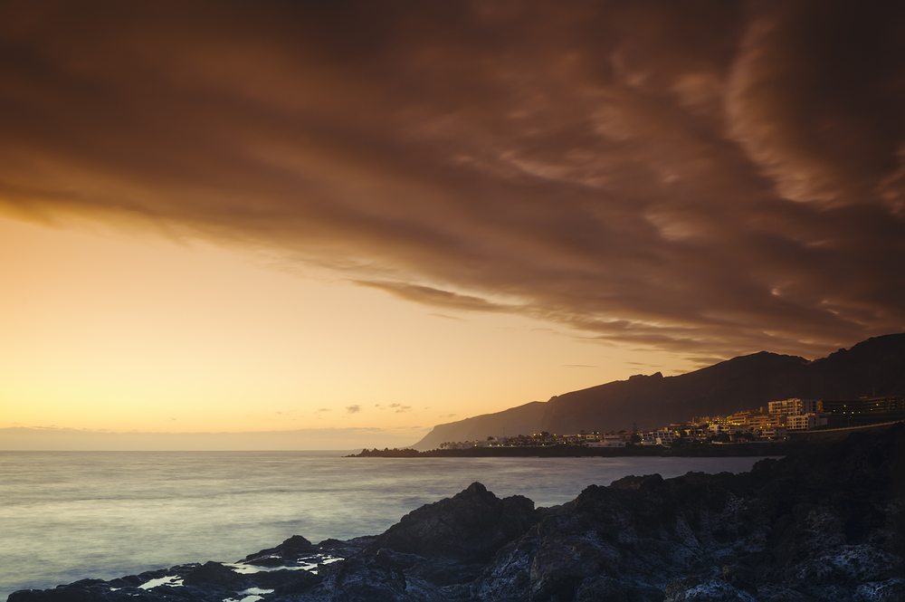 Evening sky over Los Gigantes, Tenerife_275960018