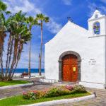 Puerto de la Cruz town on coast of Tenerife_241887715