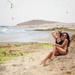 watching parasurfers in Tenerife_325827647