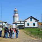 Gamova peninsula, Russia lighthouse_441922135