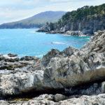 rocky shores of the Bay of Telyakovsky_421095466