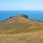 Cape of Astafiev on Gamov Peninsula_418515400